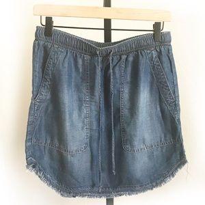 Anthro Cloth & Stone denim skirt